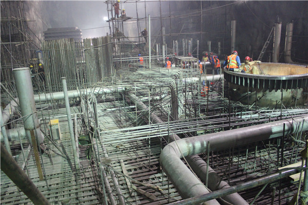 Construction of main plant of NJ project in Pakistan
